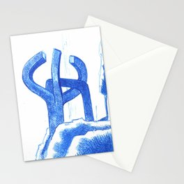 peine de los vientos Stationery Cards