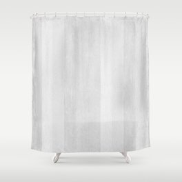 Gray Stripe Pattern Shower Curtain
