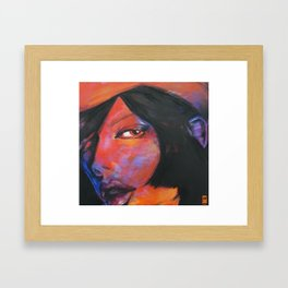 Its Just You Framed Art Print