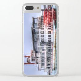 New Orleans Paddle Steamer Clear iPhone Case