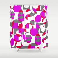 chakra Shower Curtains featuring Chakra Movements  by MMZ Designs