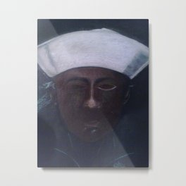 A Sailor Metal Print