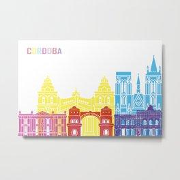 Cordoba AR skyline pop Metal Print