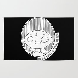 Heaven Knows Stewie Rug