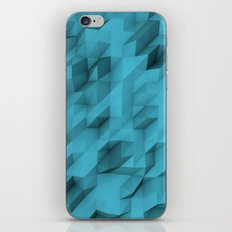 low poly texture iPhone & iPod Skin