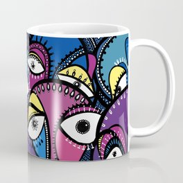 The Abstract Doodle Gang Coffee Mug
