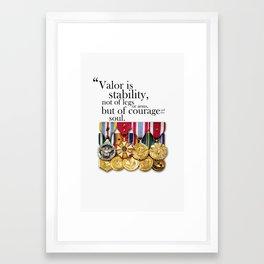 Stability  Framed Art Print