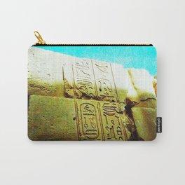Egypt Inscription Carry-All Pouch