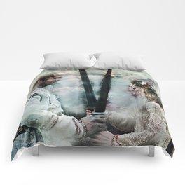 Never Shall I Lower Comforters