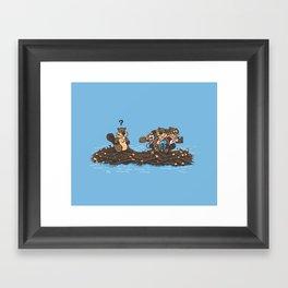 Woody Framed Art Print
