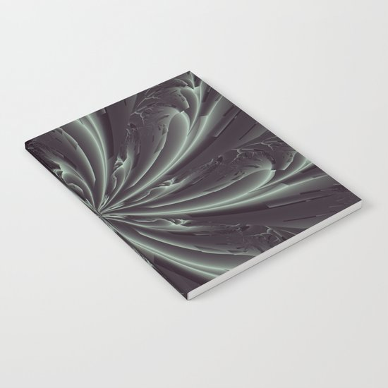 Out of the Darkness Fractal Bloom Notebook
