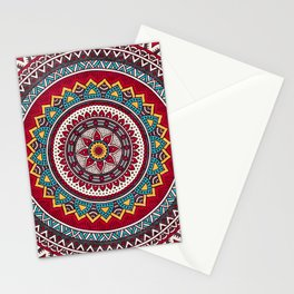 Hippie Mandala 7 Stationery Cards