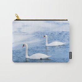 The Swan Couple Carry-All Pouch