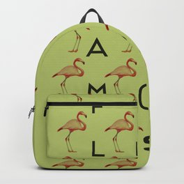 Flamingo #3 Backpack