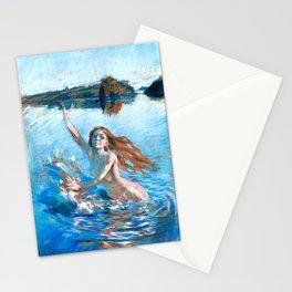 Akseli Gallen-Kallela - Aino - Study - Finnish Fine Art Stationery Cards