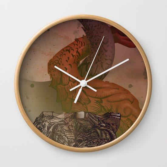 dragons de Cluny Wall Clock
