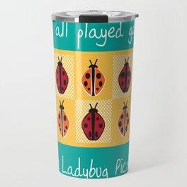Ladybug Picnic Travel Mug