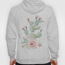 Cactus 3 White #society6 #buyart Hoody