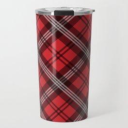 Scottish Plaid-Red Travel Mug