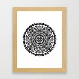 Manadala Framed Art Print