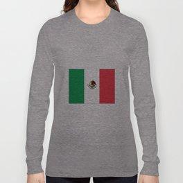 mexican's flag Long Sleeve T-shirt