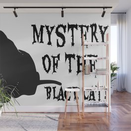 Mystery Of The Black Cat! Wall Mural