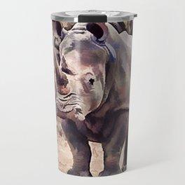Black Rhino - Vintage Travel Mug