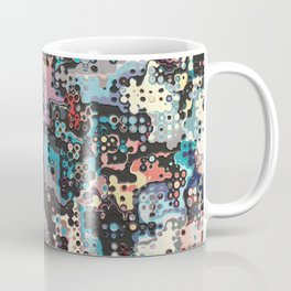Colorful Plastics Abstract Coffee Mug