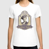 downton abbey T-shirts featuring Downton Abbey Inspired - Lady Violet - Grantham Institute - Lady Violet Finishing School by Traci Hayner Vanover