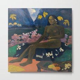 Paul Gauguin's The Seed of Areoi Metal Print