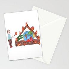 Mundinho - Burn Stationery Cards