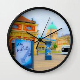 ...  P o t s d a m  ... Wall Clock