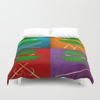 tmnt Duvet Covers featuring TMNT Collection by fabvalle