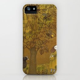 The Queen of Bees and the Princess who loved Honey iPhone Case