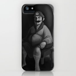 Portrait of a Plumber iPhone Case