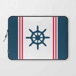 Sailing wheel Laptop Sleeve