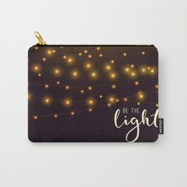 Be the light #2 Carry-All Pouch