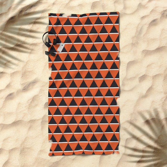 Blacks & whites Beach Towel