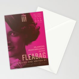 Fleabag, Phoebe Waller-Bridge, british comedy show, alternative poster Stationery Cards