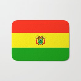 Flag of Bolivia Bath Mat