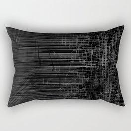 Black or White Rectangular Pillow