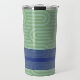 Rounded Green Travel Mug