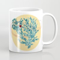 coral Mugs featuring coral by teetys