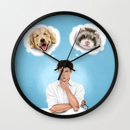 there is no substitute Wall Clock