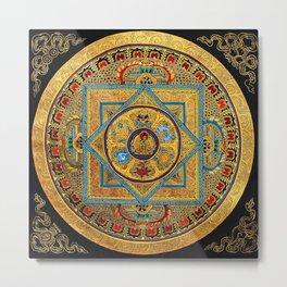 Buddhist Hindu Mandala 23 Metal Print