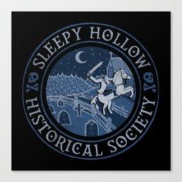 Sleepy Hollow Historical Society Canvas Print