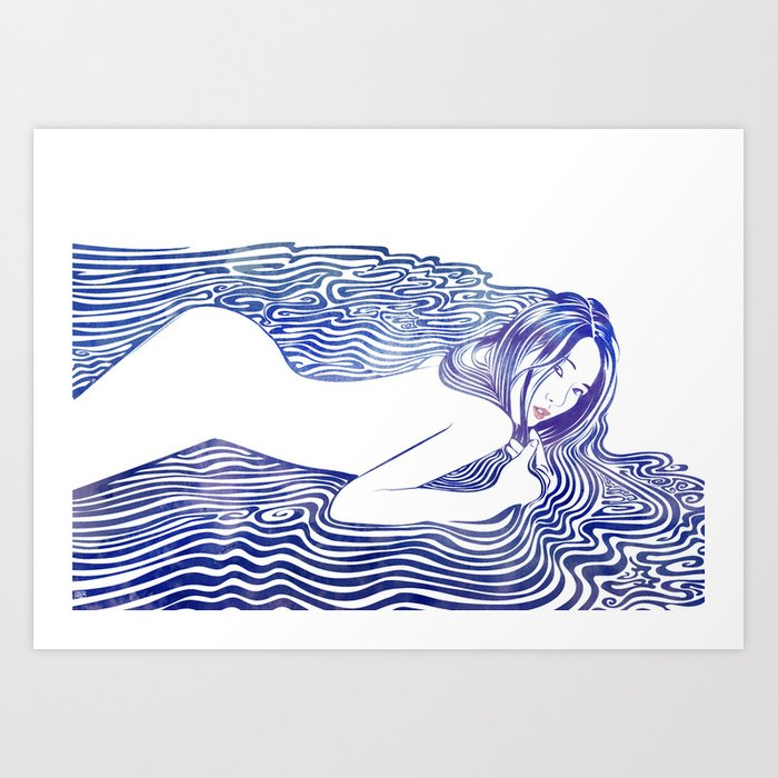 Water Nymph XXI Art Print