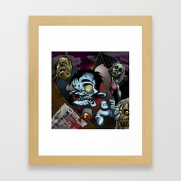 the dead walk Framed Art Print