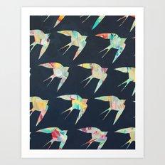 Australian Welcome Swallow I Art Print