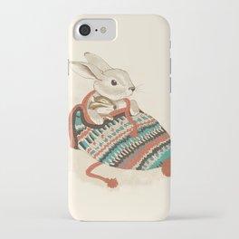 cozy chipmunk iPhone Case